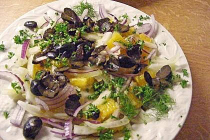 Italienischer Orangen - Fenchel Salat 0