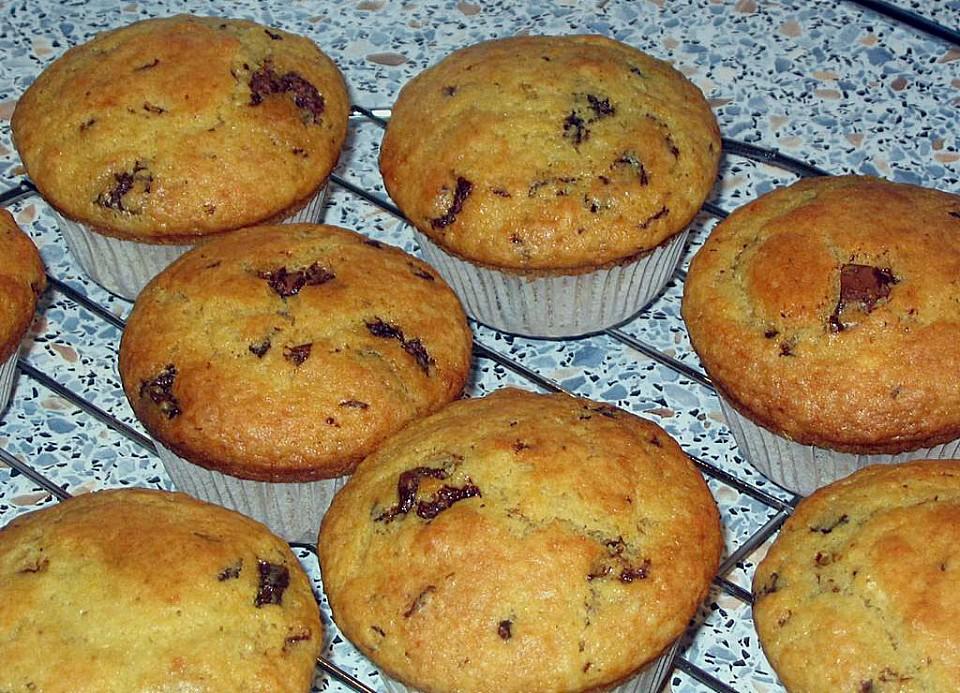 muffins mit schokost ckchen rezept mit bild von stetim. Black Bedroom Furniture Sets. Home Design Ideas