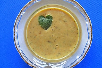 Currysauce zu Fondue