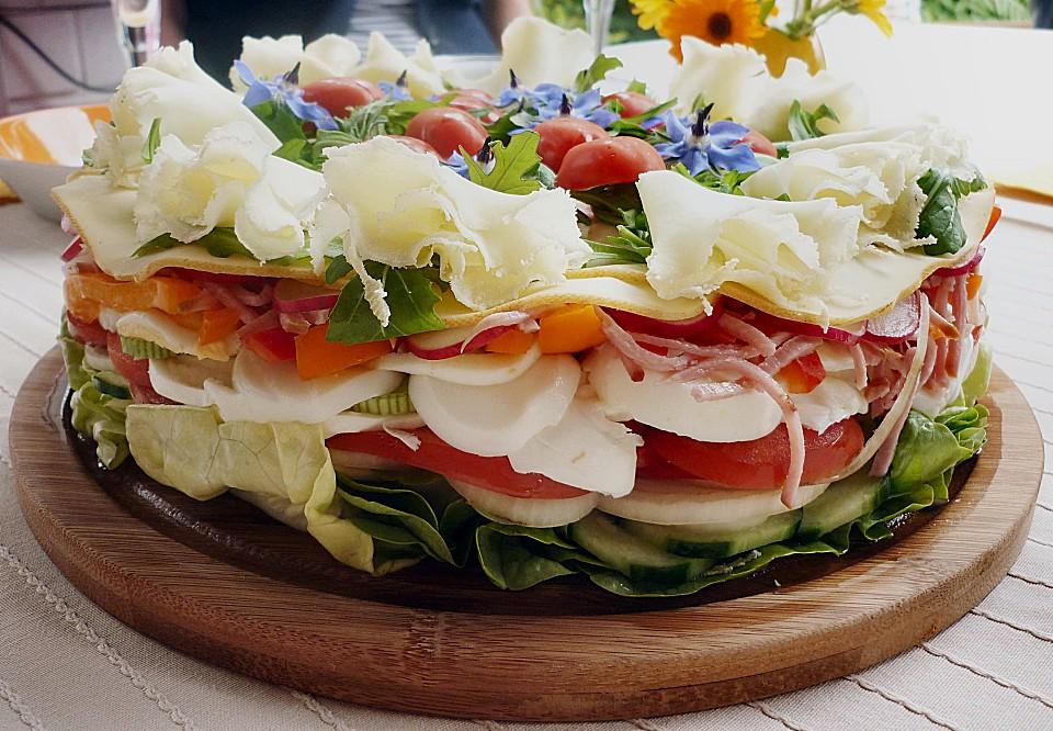 party salattorte rezept mit bild von paradiesabbel. Black Bedroom Furniture Sets. Home Design Ideas