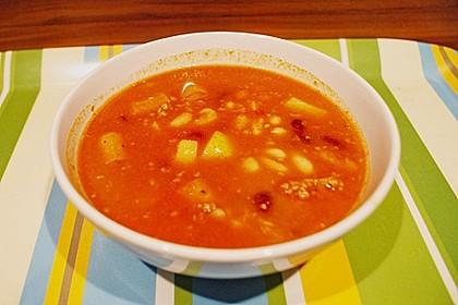 Mexikanische Bohnensuppe 0