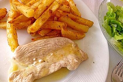Putenschnitzel in Zitrone 1