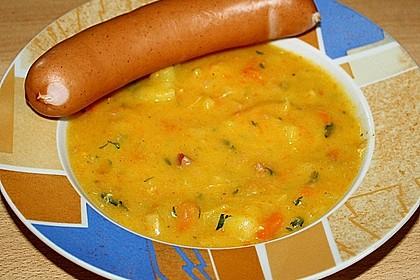 Sächsische Kartoffelsuppe 3