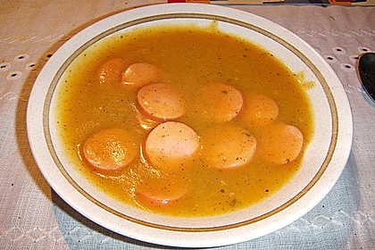 Sächsische Kartoffelsuppe 1