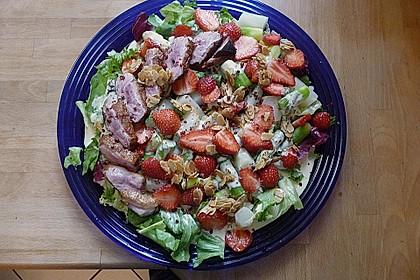 Spargel mit Erdbeeren und Entenbrust 16