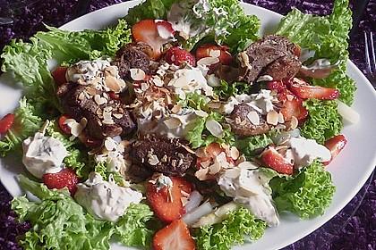 Spargel mit Erdbeeren und Entenbrust 10