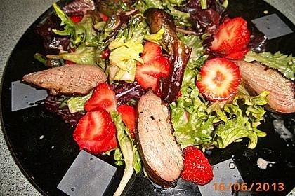 Spargel mit Erdbeeren und Entenbrust 9