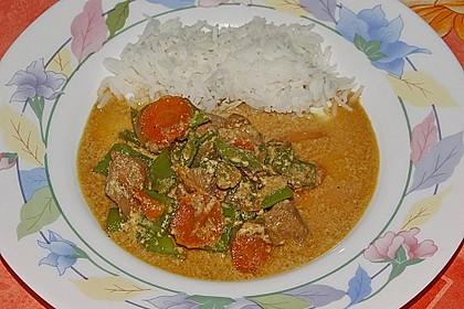 Thailändische Wokpfanne mit Kokosmilch 25