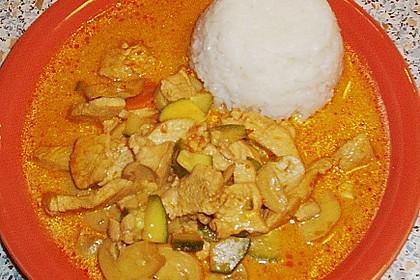 Thailändische Wokpfanne mit Kokosmilch 37