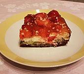 Erdbeer - Rhabarber - Pie