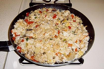 Gebratener Reis auf chinesische Art 4