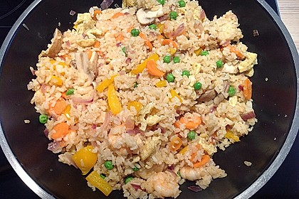 Gebratener Reis auf chinesische Art 3