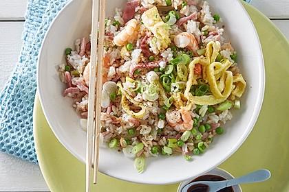 Gebratener Reis auf chinesische Art 2