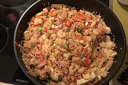 Gebratener Reis auf chinesische Art 8