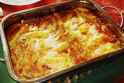 Porree - Kasseler - Auflauf mit Kartoffelkruste 2