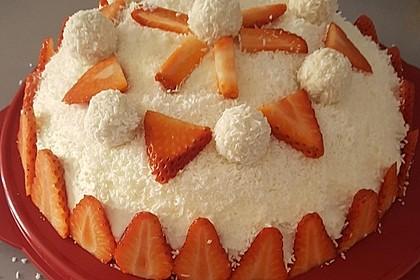 Erdbeer-Raffaello-Torte 132