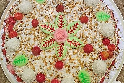 Erdbeer-Raffaello-Torte 39