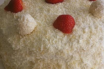 Erdbeer-Raffaello-Torte 111