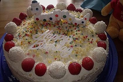 Erdbeer-Raffaello-Torte 98