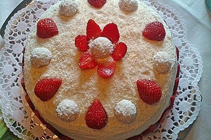 Erdbeer-Raffaello-Torte 123