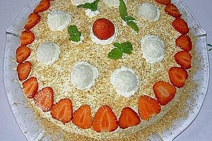Erdbeer-Raffaello-Torte 204