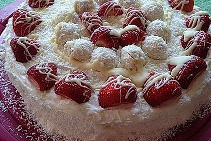 Erdbeer-Raffaello-Torte 30