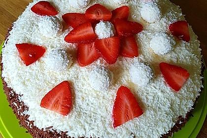 Erdbeer-Raffaello-Torte 63