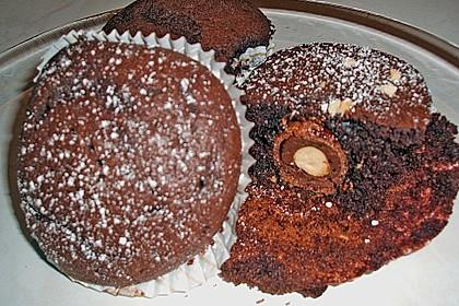Schoko - Rocher - Muffins 11