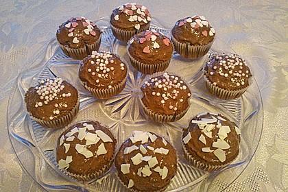 Schoko - Rocher - Muffins 3