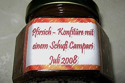 Campari - Pfirsich - Konfitüre 3