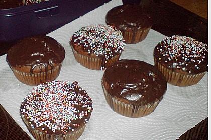 Schokoladen Muffins 36
