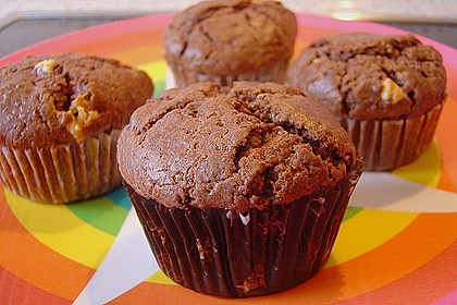 Schokoladen Muffins 1