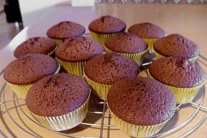 Schokoladen Muffins 16