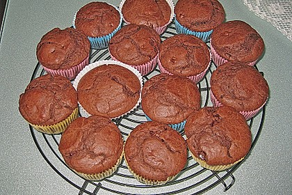 Schokoladen Muffins 34