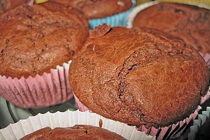Schokoladen Muffins 6