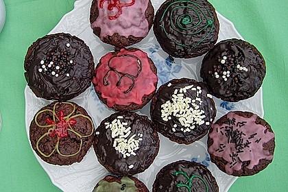 Schokoladen Muffins 25