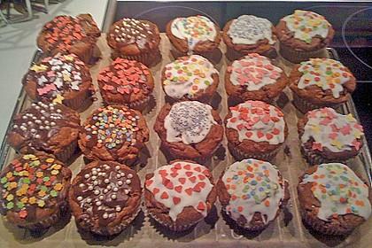 Schokoladen Muffins 33
