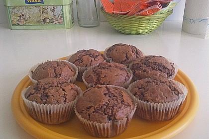 Schokoladen Muffins 38