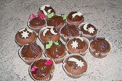 Schokoladen Muffins 30