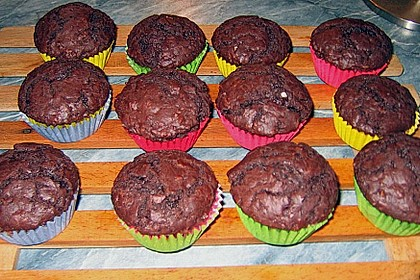 Schokoladen Muffins 35