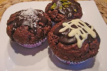 Schokoladen Muffins 22
