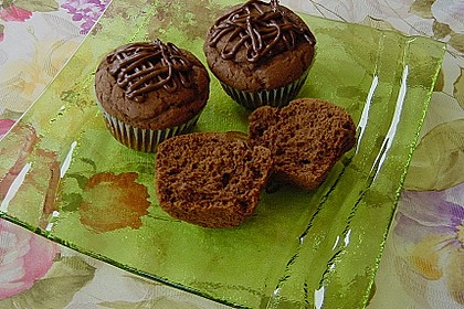 Schokoladen Muffins 8