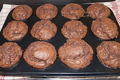 Schokoladen Muffins 19
