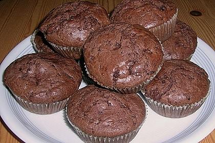 Schokoladen Muffins 42