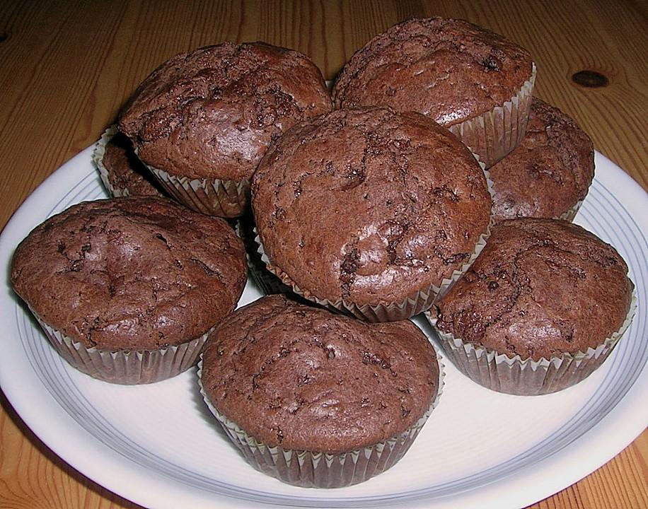 schokoladen muffins von danysahne. Black Bedroom Furniture Sets. Home Design Ideas