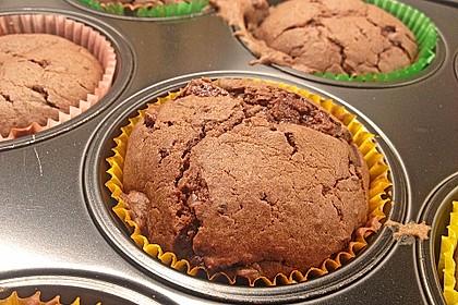 Schokoladen Muffins 2