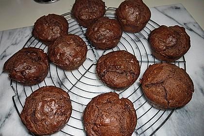 Schokoladen Muffins 27