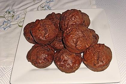 Schokoladen Muffins 12