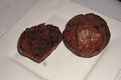 Schokoladen Muffins 17