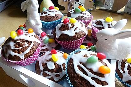 Schokoladen Muffins 4